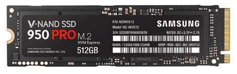 SAMSUNG 950 PRO 512GB (MZ-V5P512BW)
