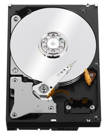WD RED 4TB 40EFRX 64MB CACHE SATA:600